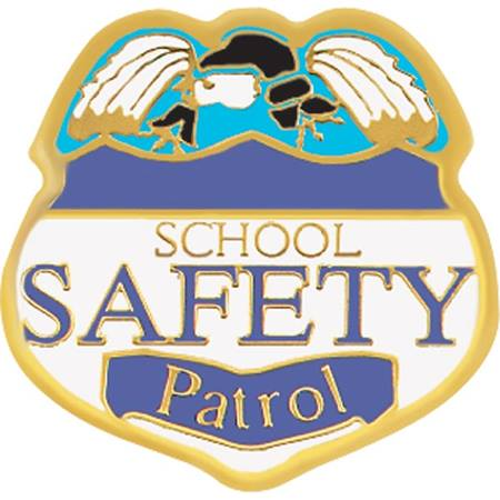 Safety Patrol Award Pin - Eagle Badge