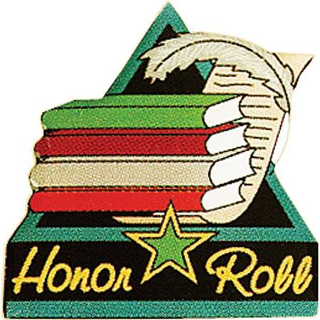 Honor Roll Award Pin – Stack of Books