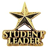 Leadership Award Pin - Student Leader Star