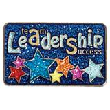 Leadership Award Pin - Glitter Stars
