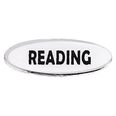 Reading Mini Pin