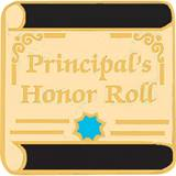 Principal's Award Pin - Principal's Honor Roll Scroll