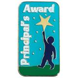 Principal's Award Pin - Reach For the Stars