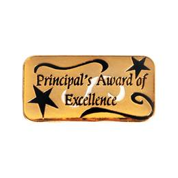 Principal's Award Pin - Award of Excellence