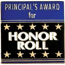 Principal's Award Pin - Honor Roll