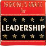 Principals Award Award Pin - Gold Star
