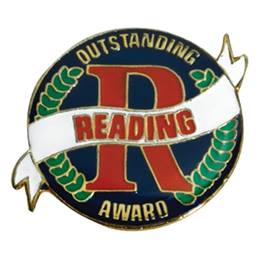Reading Award Pin - Outstanding