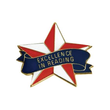 Reading Award Pin - Excellence