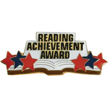 Reading Award Pin - Achievement
