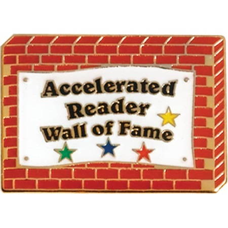 Reading Award Pin - Accelerated Reader Wall of Fame