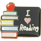Reading Award Pin - I Love Reading