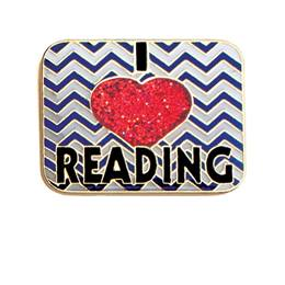 I Love Reading Award Pin