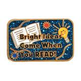 Reading Award Pin - Glitter Bright Ideas