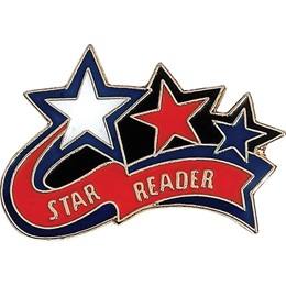 Reading Award Pin - Star Reader