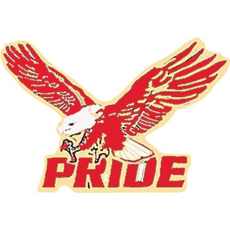 Eagle Award Pin - Red Pride