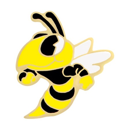 Hornet Award Pin - Black Shirt