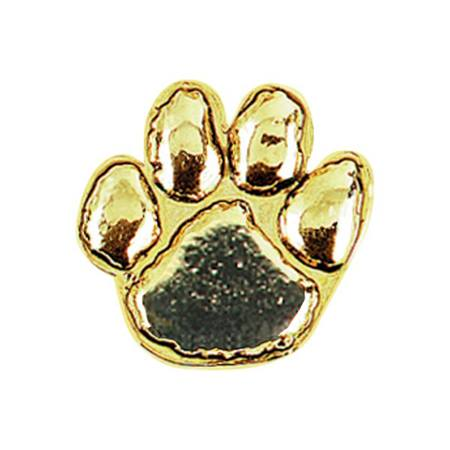 Paw Award Pin - Gold