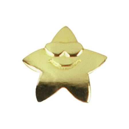 Cool Gold Star Award Pin