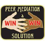 Peer Mediation Award Pin - A Win Win Solution