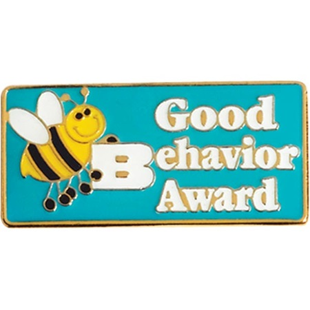Good Behavior Award Pin - Bee