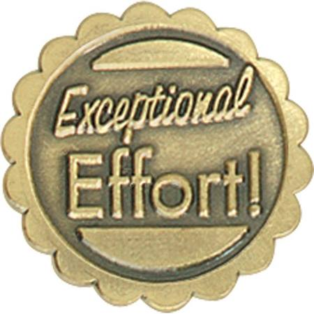 Exceptional Effort Award Pin