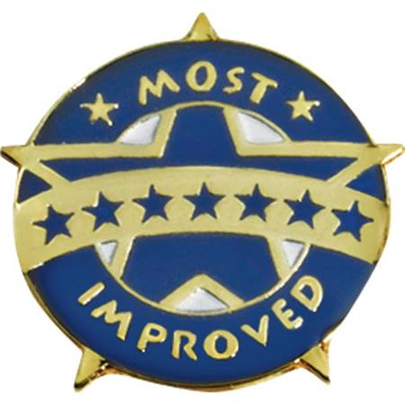 improvement award pin most improved award anderson s