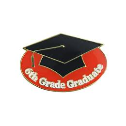 Graduation Award Pin - 6th Grade Graduate