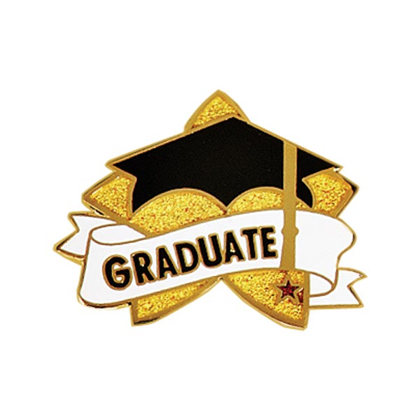Class of 2027 Graduation Hat Pins with Color Enamel Crown Awards Class of 2027 Pins