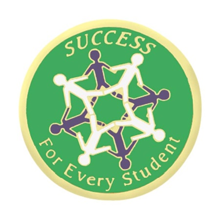 Service Award Pin - Success For Every Student