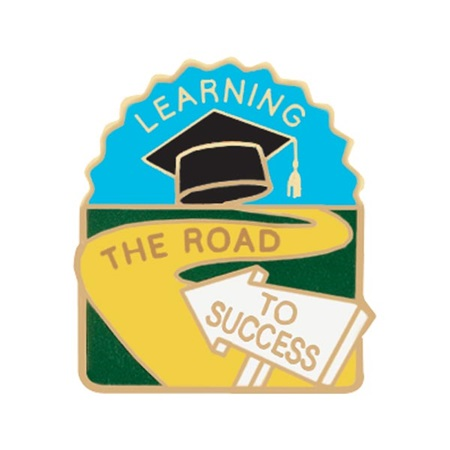 Learning Award Pin - The Road to Success