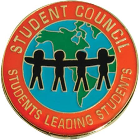 Student Council Award Pin - Students Leading Students