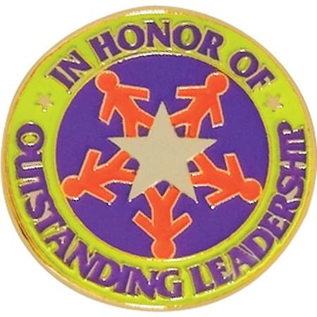 Leadership Award Pin - Outstanding Leadership