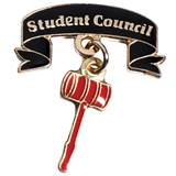 Student Council Award Pin - Dangling Gavel