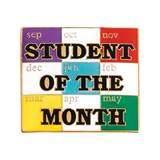 Student of the Month Award Pin - Calendar