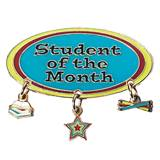 Student of the Month Award Pin - Dangling Charms