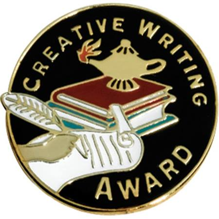 Creative Writing Award Pin
