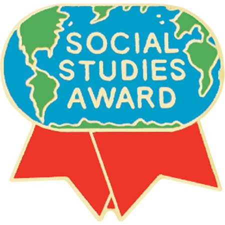 Social Studies Award Pin