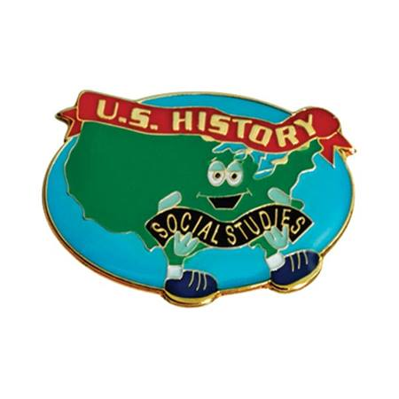 Social Studies Award Pin - US History