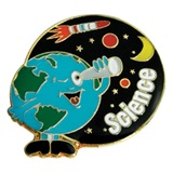 Science Award Pin - Outer Space