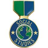 Social Studies Award Pin - Medallion