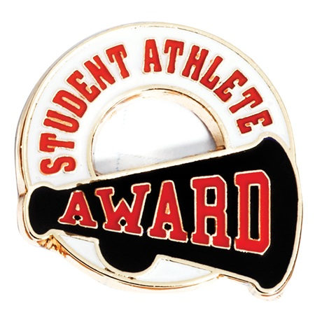 Sports Award Pin - Student Athlete
