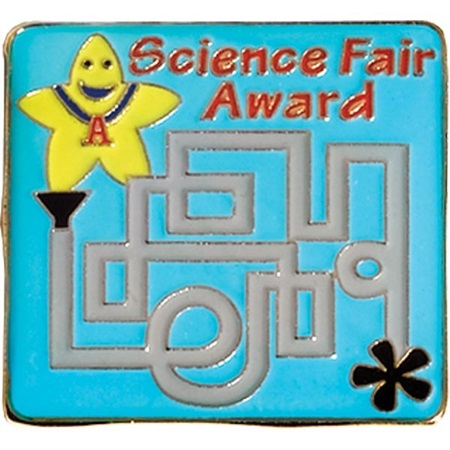 Science Fair Award Pin