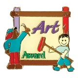 Art Award Pin - Painters