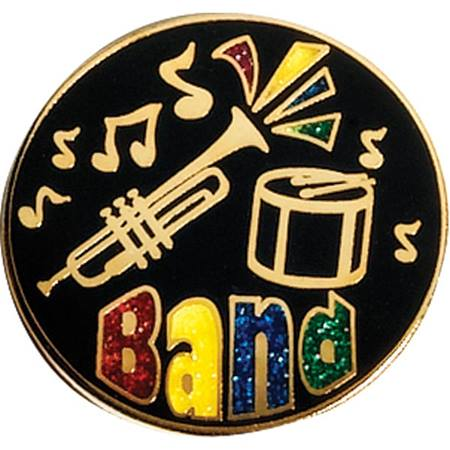 Band Award Pin - Glitter