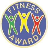 Fitness Award Pin - Colored Bodies