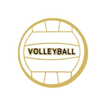 Volleyball Award Pin - Volleyball