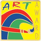 Art Award Pin - Paint Swirls