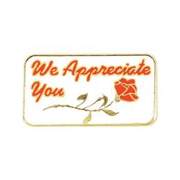 Appreciation Award Pin - We Appreciate You