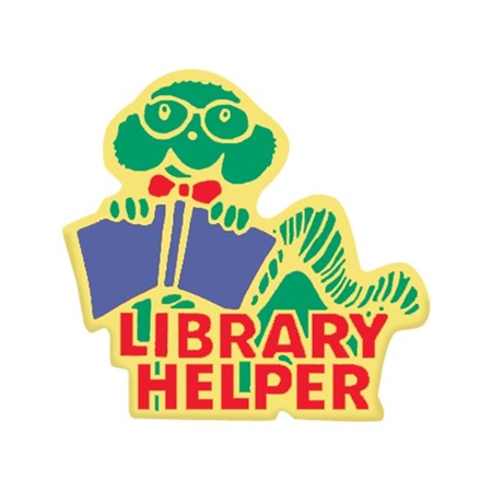 Library Helper Award Pin