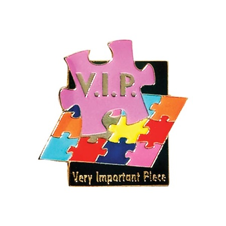 Team Award Pin - Very Important Piece Puzzle
